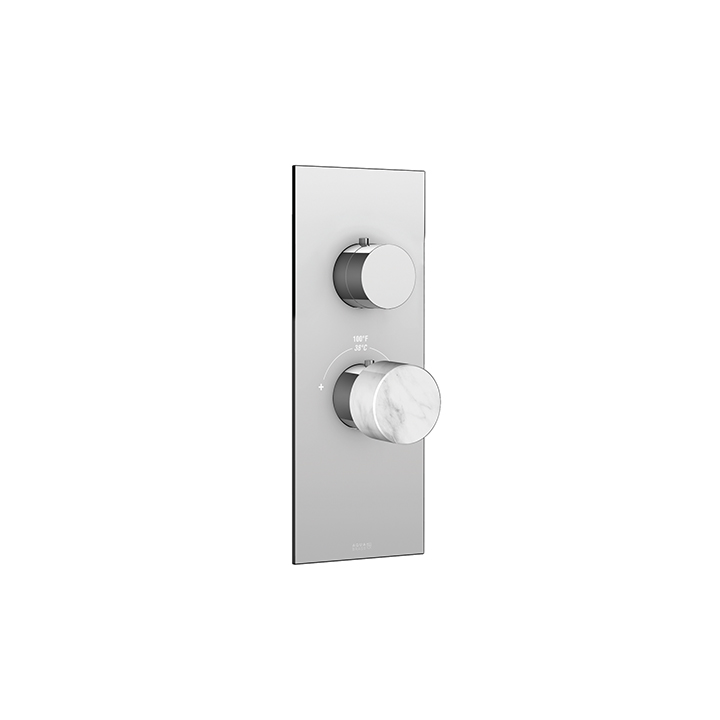 Marmo plate and handle trim set for TURBO thermostatic valve #T12001-related