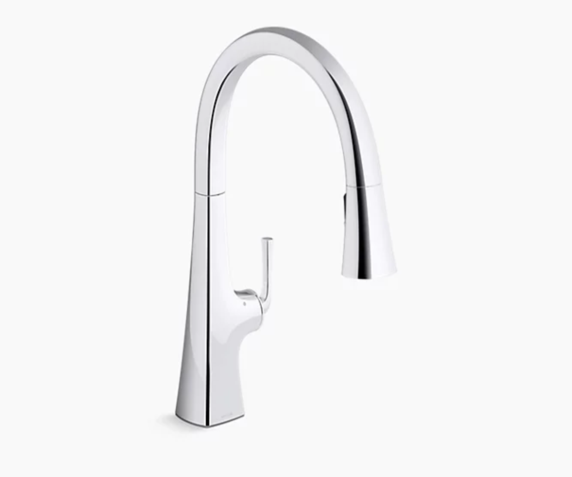 Touchless pull-down kitchen sink faucet-home