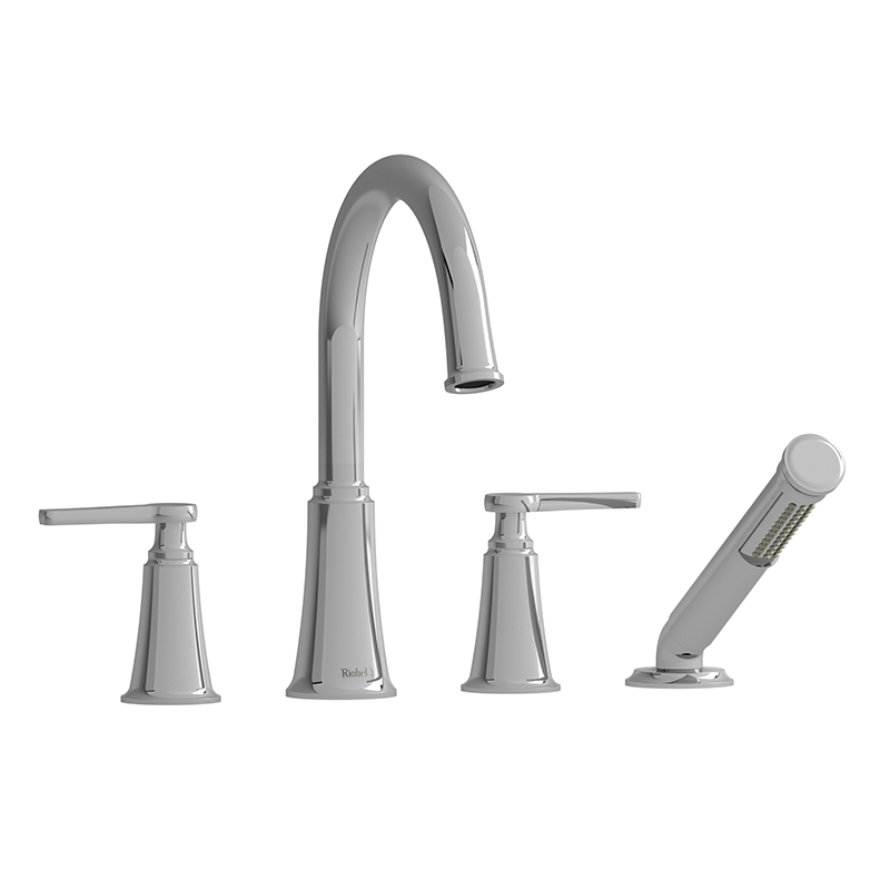 MOMENTI - MMRD12J 4-PIECE DECK-MOUNT TUB FILLER WITH HAND SHOWER-related
