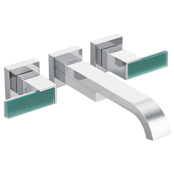 SIDERNA® Two-Handle Wall Mount Tub Filler - Less Handles-related