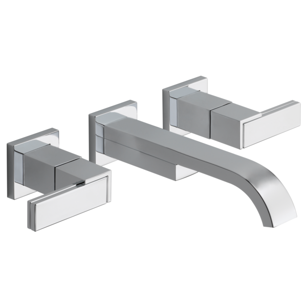 SIDERNA® Two-Handle Wall-Mount Lavatory Faucet - Less Handles 1.2 GPM-related
