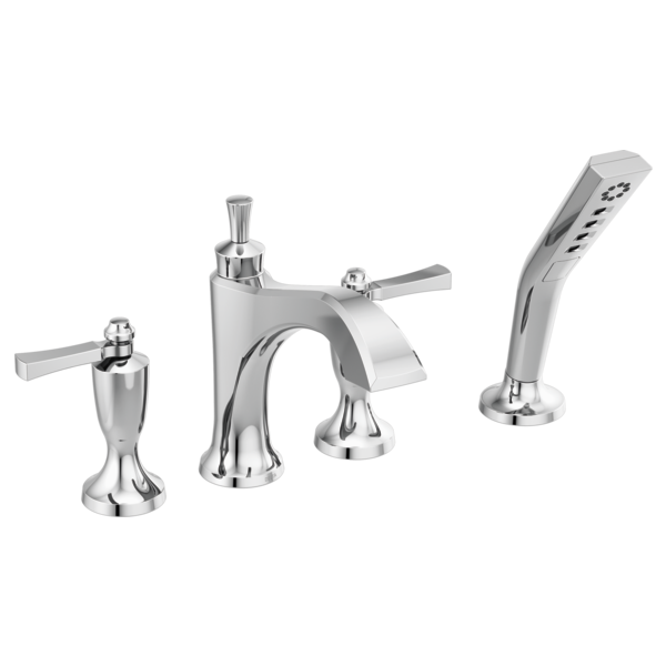 DORVAL™ Dorval™ Roman Tub With Hand Shower Trim - Less Handles In Chrome-related
