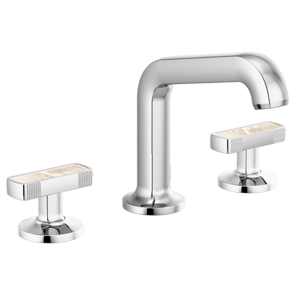 KINTSU™ Widespread Lavatory Faucet With Angled Spout - Less Handles-related