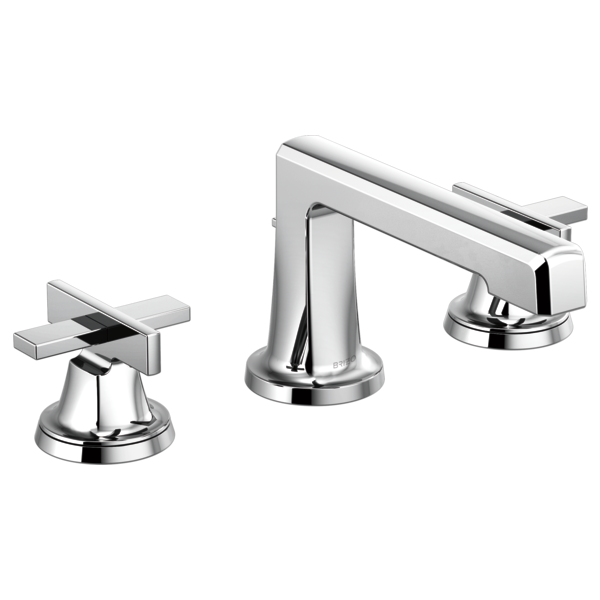 LEVOIR® Widespread Lavatory Faucet With Low Spout - Less Handles-related