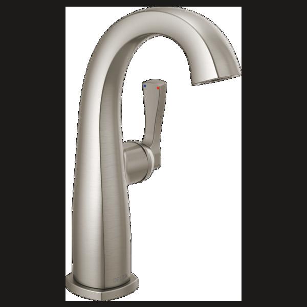 Single Handle Mid-Height Bathroom Faucet - Less Handle-popular