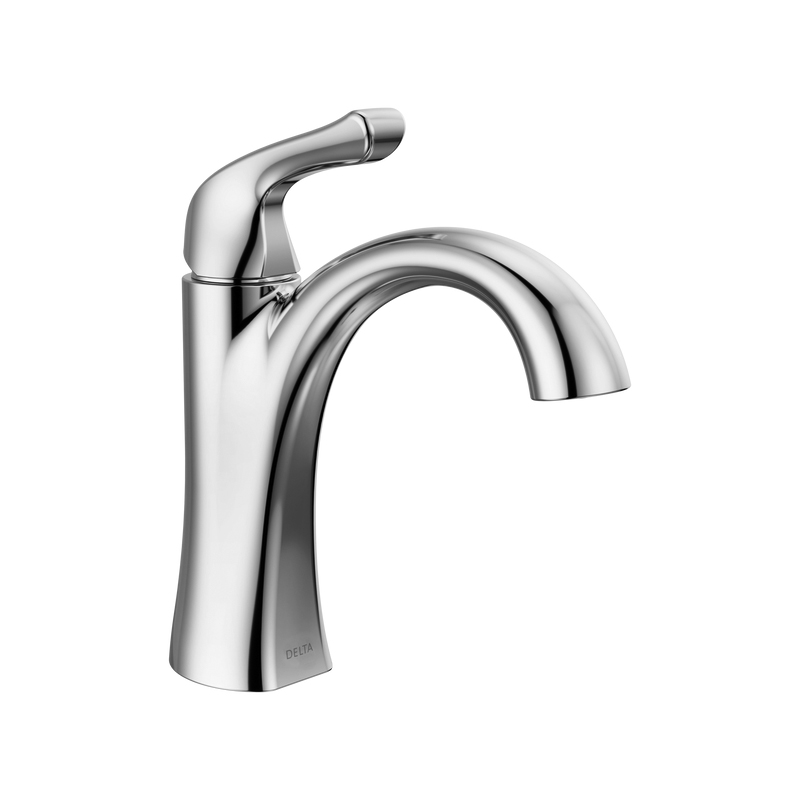 Single Handle Centerset Bathroom Faucet-home