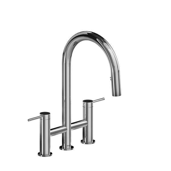 Azure Bridge Pulldown Kitchen Faucet  - Chrome | Model Number: AZ400C-related