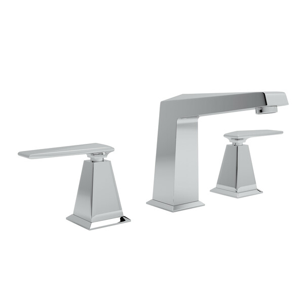 Vincent High Neck Widespread Bathroom Faucet - Polished Chrome with Metal Lever Handle | Model Number: A1008LVAPC-2-related