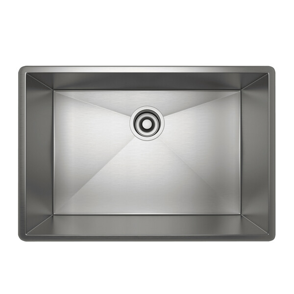 Forze Single Bowl Stainless Steel Kitchen Sink - Brushed Stainless Steel | Model Number: RSS2416SB-related