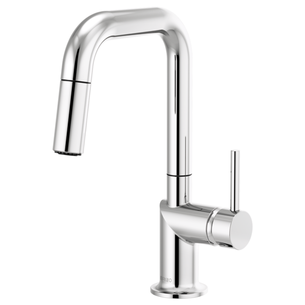 ODIN® Pull-Down Prep Faucet with Square Spout - Less Handle  63965LF-PCLHP--HLK175-PC-related