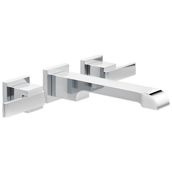 Two Handle Wall Mount Bathroom Faucet Trim-related