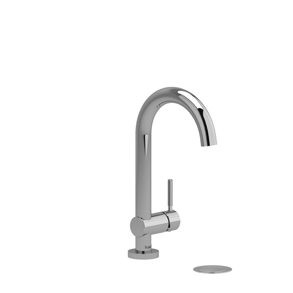 Riu Single Knurled  Handle Bathroom Faucet - Chrome   Model Number: RU01KNC-related